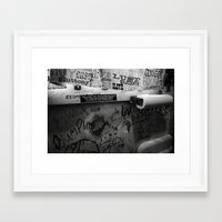 bathroom Framed Art Prints featuring Bathroom by N. Negron Photography