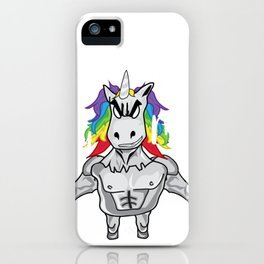 Unicorn Uncle Totally Magical Funny New Uncle Gift iPhone Case
