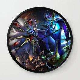 Solgaleo and Lunala Wall Clock
