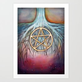 Ace of Pentacles Art Print