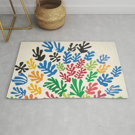 Leaf Cutouts by Henri Matisse (1953) Rug
