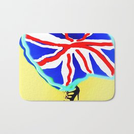 May in May (trouble in politics - Brexit) - shoes stories Bath Mat