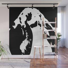 Black & White English Lop Wall Mural