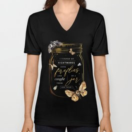Fireflies Unisex V-Neck