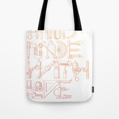 Hand Made With Love Tote Bag