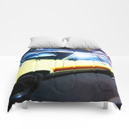 Yellow Car Comforters
