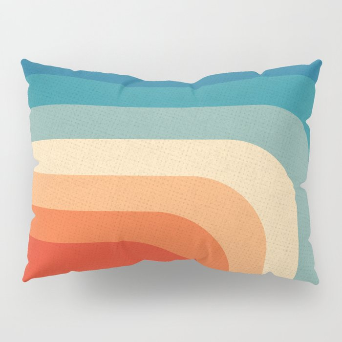 Retro 70s Color Palette III Pillow Sham