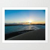 Dune Sunset Art Print