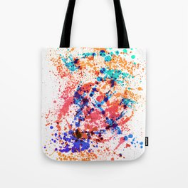 Wild Style - Abstract Splatter Style Tote Bag