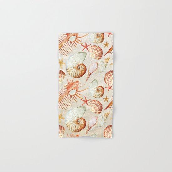 Marine Pattern 06 Hand & Bath Towel