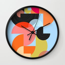 Abstract Composition 624 Wall Clock