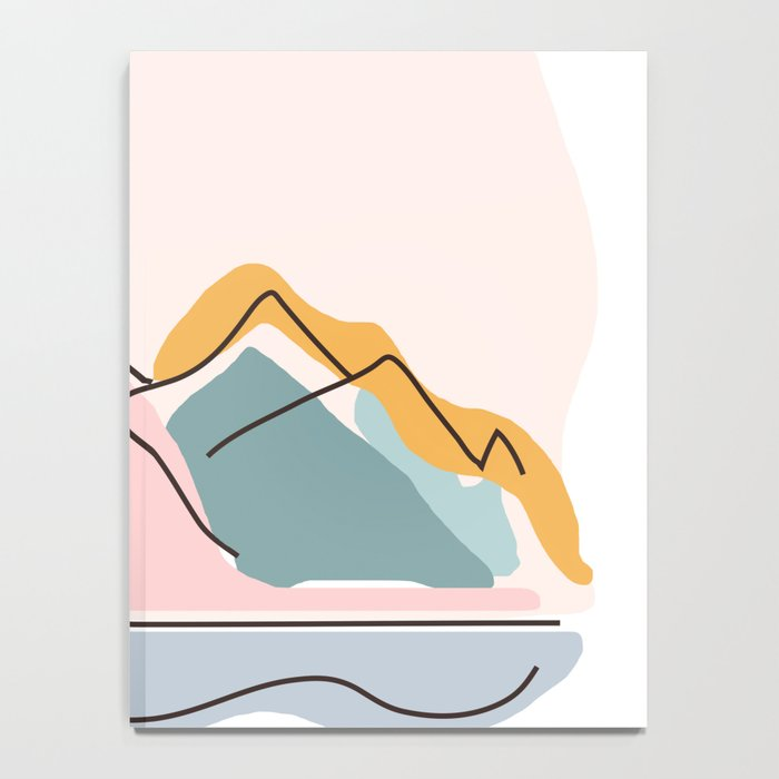 Minimalistic Landscape Notebook