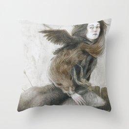 Demons Throw Pillow