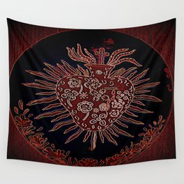 Sacred Heart Wall Tapestry