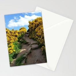 Edinburgh Scotland Sunflower Path-United Kingdom Stationery Cards