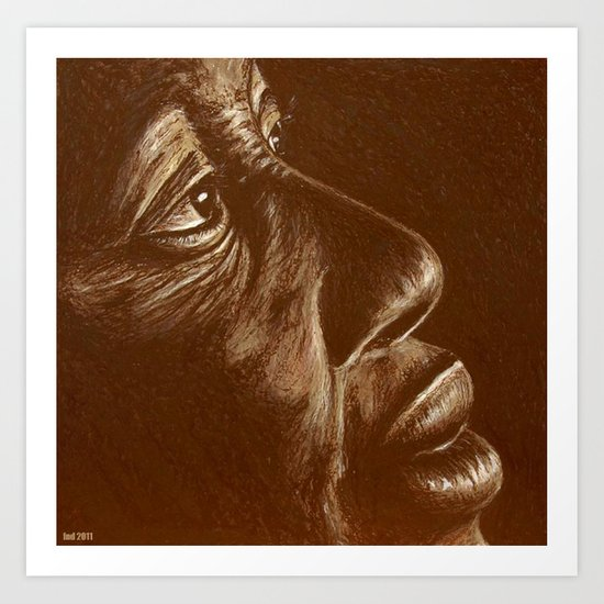 the roots Art Print