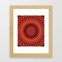 Mandala 261 Framed Art Print