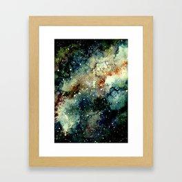 Cosmic Splendor Framed Art Print