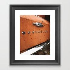 Vintage Chevrolet Framed Art Print