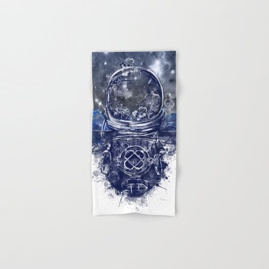 galaxy landscape Hand & Bath Towel