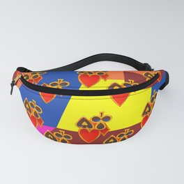 Poker Face Fanny Pack
