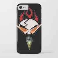 gurren lagann iPhone & iPod Cases featuring All for one [Gurren Lagann] by Juliet García