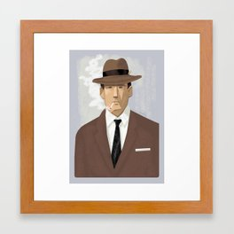Mad Man Framed Art Print