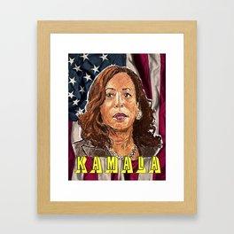 Kamala Harris Framed Art Print