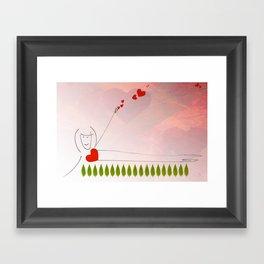 Yoga Master Framed Art Print