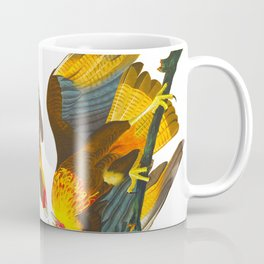 Caracara Eagle Illustration Coffee Mug