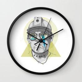 Ready to Heal Wall Clock