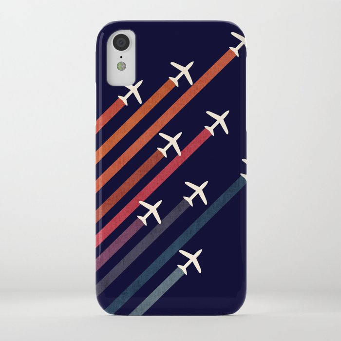 Aerial acrobat iPhone Case