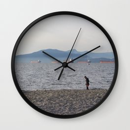 Kits Beach 1 Wall Clock
