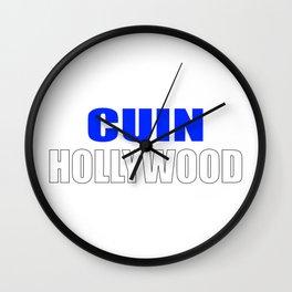 CUIN Hollywood Wall Clock
