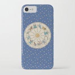 Vintage Astrology Zodiac Wheel iPhone Case