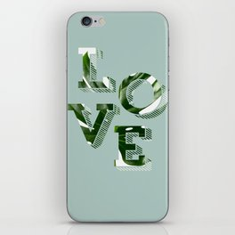 Love plants iPhone Skin