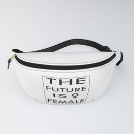 The future is Female Fanny Pack