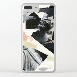 Untitled (Painted Composition 3) Clear iPhone Case