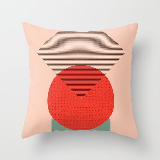 Cirkel is my friend V1 Throw Pillow