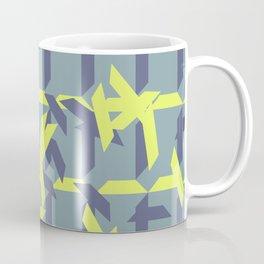trapezoids grid pattern_pigeon Coffee Mug