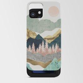 Summer Vista iPhone Card Case
