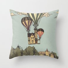 Steam UP Throw Pillow