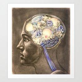 Enlightened Mind Art Print