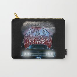 Supernatural Theme Car BlueL2 Carry-All Pouch