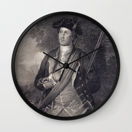 Vintage George Washington Portrait Wall Clock