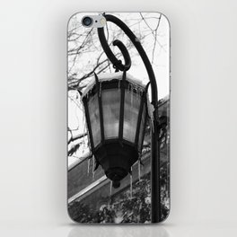 Icy Lamppost iPhone Skin