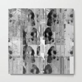Poppaskull 1 Metal Print