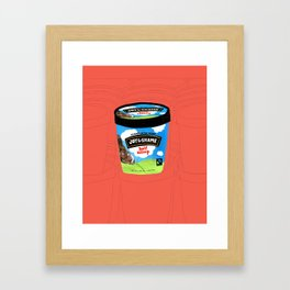 Half Asleep Framed Art Print