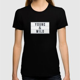 Young & Wild T-shirt