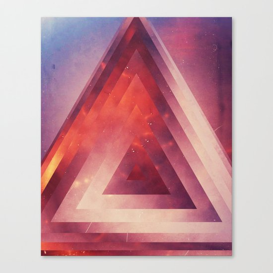 Triangled Too Canvas Print